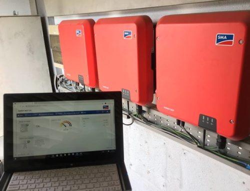Revamping instalación fotovoltaica en cubierta industrial